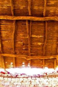 Techo del horno en Lobatera para cocer ladrillos y tejas. Patrimonio cultural del estado Táchira, Venezuela.