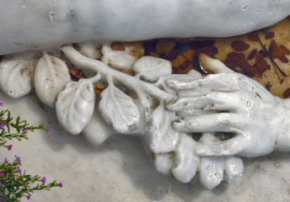 Escultura de Adán, Museo de Trapiche de los Clavo. Patrimonio cultural de Boconó, estado Trujillo, Venezuela.