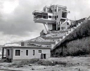 Quinta Olary o Villa Monzeglio. Patrimonio municipal de Baruta. Venezuela.